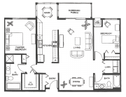 The Maple : 1272 SQ. FT.